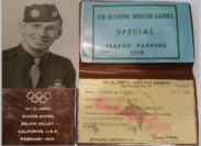 Theodore (Ted) A. Wilson ~ Great Father, Lover of the Mountains, Olympic Collector, Honored Soldier and State Park Superintendent's Olympic Donations