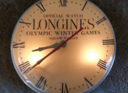 Rare, perfect condition 1960 Winter Olympic clock found!